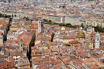 Digital Art - Nice - France by Leo Symon