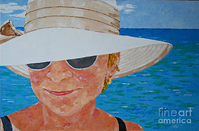 Painting - Nice Hat by Art Mantia