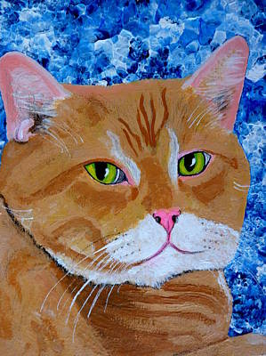 Painting - Nice Kitty by Pj Artman