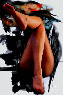 Digital Art - Nice Legs by Rafael Salazar
