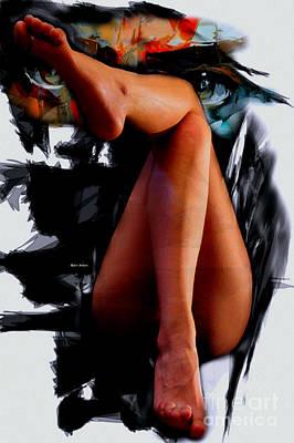 Amy Hamilton Watercolor Animals - Nice Legs by Rafael Salazar