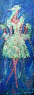 Painting - Nice Modeling by Wanvisa Klawklean