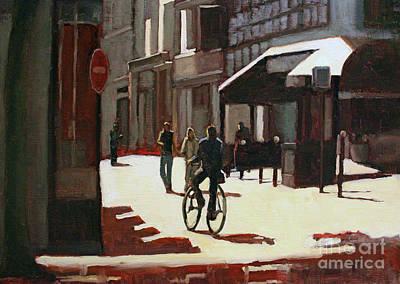 Painting - Nice Rue by Tate Hamilton