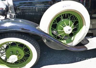 Photograph - Nice Set Of Wheels by Barbie Corbett-Newmin