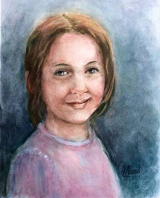 Painting - Nice Smile by Laila Awad Jamaleldin