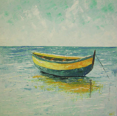 South Of France Painting - Nice South Of France by Frederic Payet