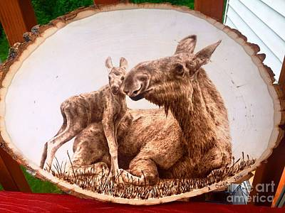 Pyrography - Nice To Meet You by Adam Owen