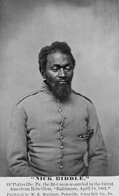 Slavery Photograph - Nicholas Biddle, An African American by Everett