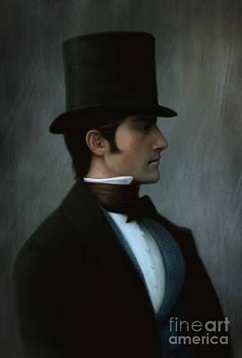 Male Portrait Painting - Nicholas by Doris Mantair