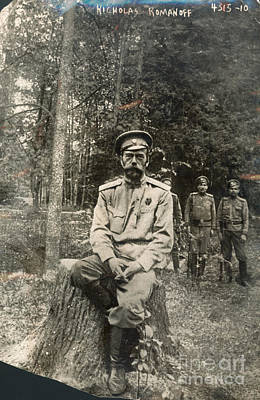 Photograph - Nicholas II (1868-1918) by Granger
