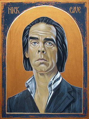 Painting - Nick Cave 3 by Jovana Kolic