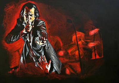 Nick Cave Original by Melissa O'Brien