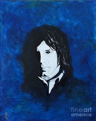 Painting - Nick Drake by John Lyes