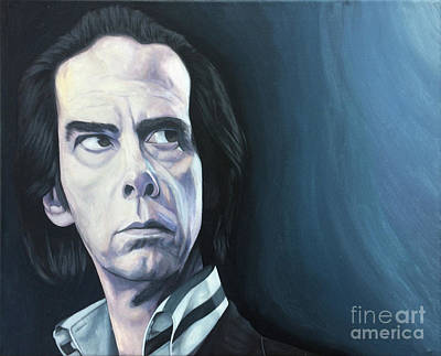 Nick Cave Painting - Nick by Kevin J Graham
