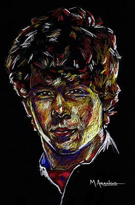 Nick Art Print by Maria Arango