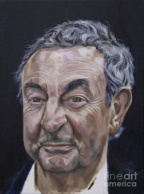 Painting - Nick Mason by James Lavott