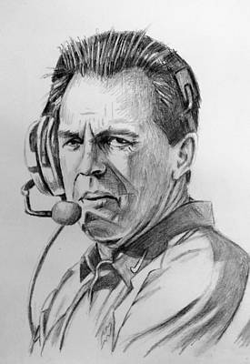 Nick Saban 1217152 Art Print