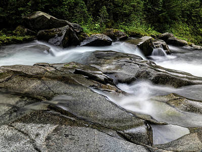 Photograph - Nickel Creek by Gary Karlsen