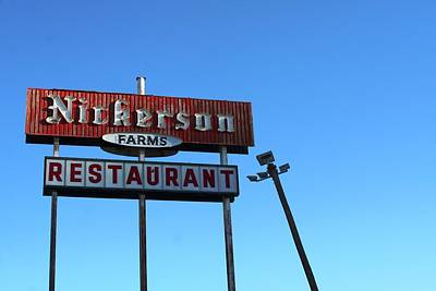 Photograph - Nickerson Farms by David S Reynolds