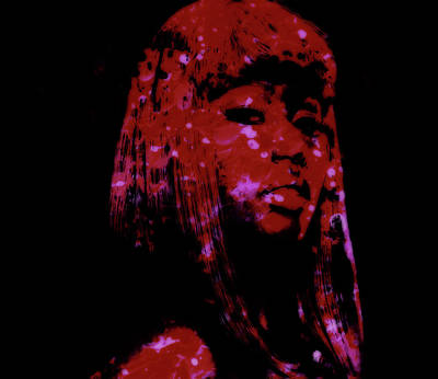 Big Pun Mixed Media - Nicki Minaj 4a by Brian Reaves