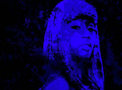 Big Pun Mixed Media - Nicki Minaj 4b by Brian Reaves