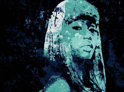 Big Pun Mixed Media - Nicki Minaj 4e by Brian Reaves