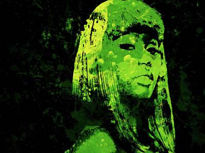 Big Pun Mixed Media - Nicki Minaj 4f by Brian Reaves