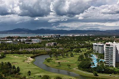 Nuevo Vallarta Photograph - Nicklaus Design Golf Course At Nuevo Vallarta With Sleeping Lady by Reimar Gaertner