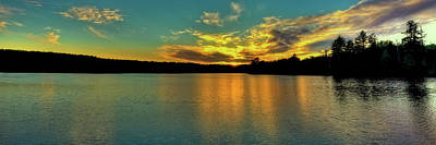 Photograph - Nicks Lake Panorama by David Patterson