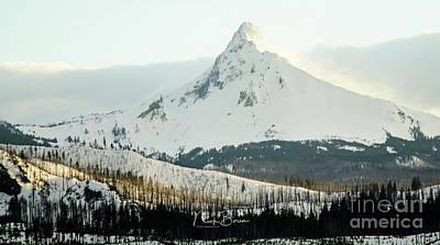 Photograph - Nick's Signature Winterscape by Nick Boren