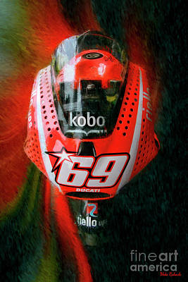 Photograph - Nicky Hayden's Motogp Ducati by Blake Richards