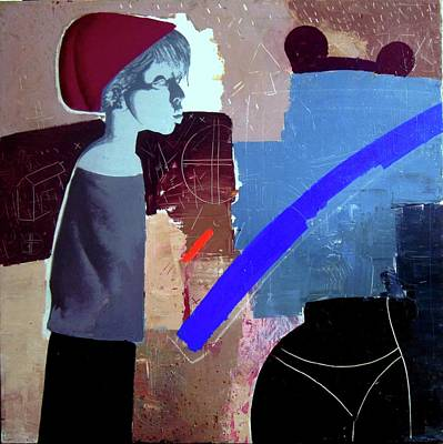Figurativ Painting - Nico by Gheorghe Lungu