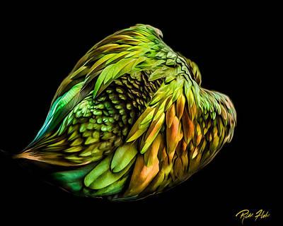 Photograph - Nicobar Abstract by Rikk Flohr