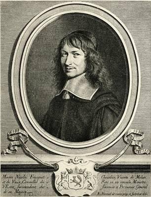 Nicolas Fouquet,1615-1680. Chevalier Art Print by Vintage Design Pics