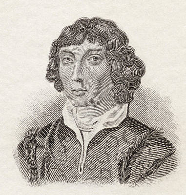 Nicolaus Copernicus, 1473 To 1543 Print by Vintage Design Pics