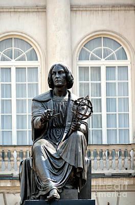 Nicolaus Copernicus Monument Warsaw Poland Original