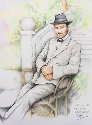 Painting - Nicolo Minca. 1908 by Victor Minca