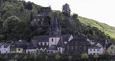 Reconstruction Photograph - Niederheimbach Germany by Teresa Mucha