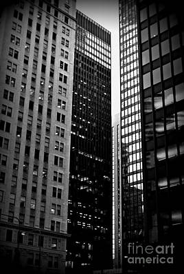 Photograph - Nieghborhoods - City Of Chicago by Frank J Casella