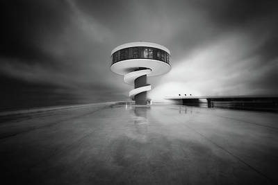 Cityspace Photograph - Niemeyer,future Visions by Carlos F Turienzo
