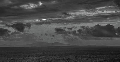 Photograph - Nieth Sunset Bw #g9 by Leif Sohlman