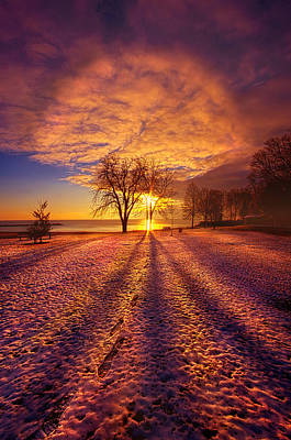 Photograph - Niether Near Nor Far by Phil Koch