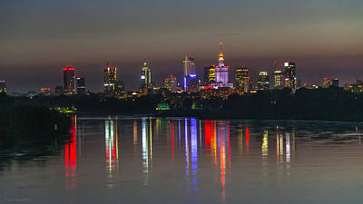 Photograph - Reflection Of The City by Julis Simo