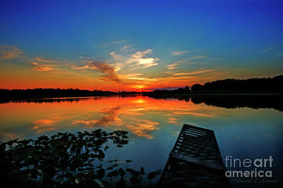 Photograph - Night Arrives by David Arment