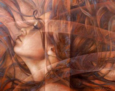 Night Art Print by Arthur Braginsky