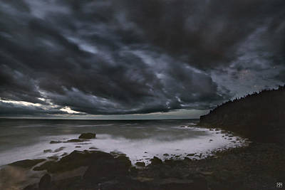 Photograph - Night At Boulder Beach by John Meader