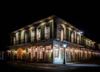 Photograph - Night At Chateau Hotel by Greg Mimbs