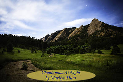 Photograph - Night At Chautauqua by Marilyn Hunt