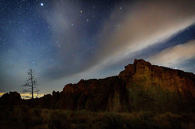 Photograph - Night At Smith Rock by Cat Connor