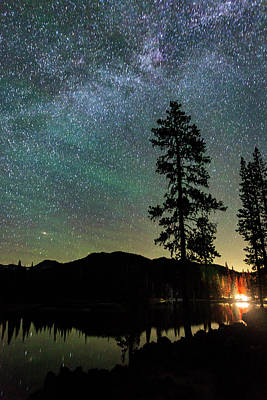 Photograph - Night At Sparks Lake by Cat Connor